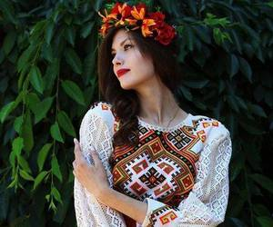 beauty, embroidery, and folklore image
