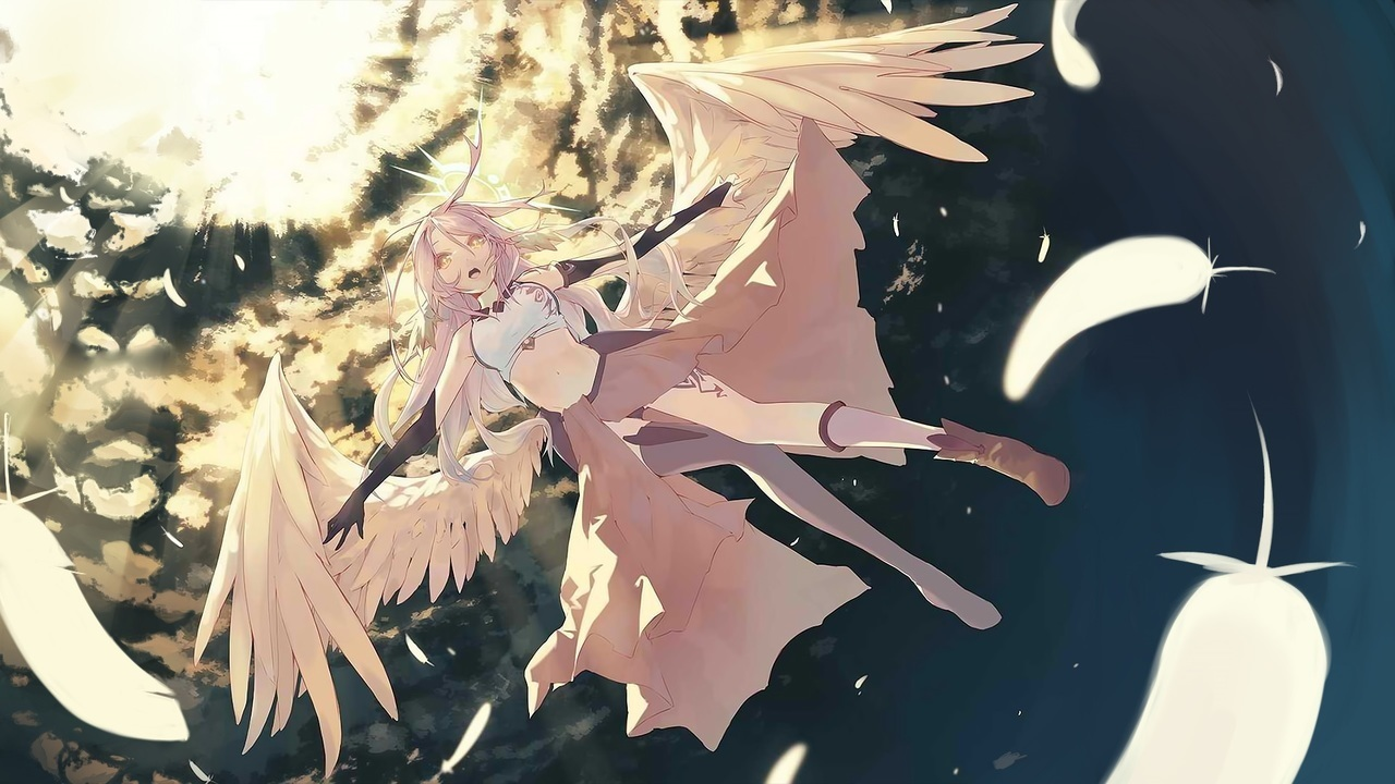Jibril Wallpaper Nightcore Angel Of Darkness On We Heart It
