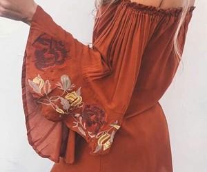 dress, fashion, and bohemian image