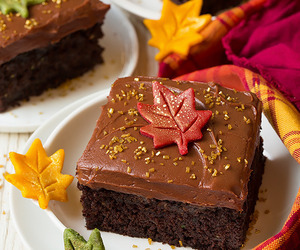 autumn, cake, and chocolate image