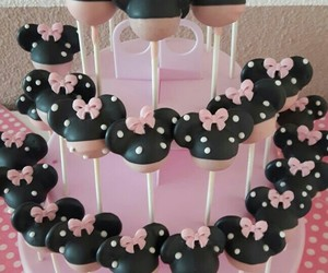 sweets, cake, and cake pops image