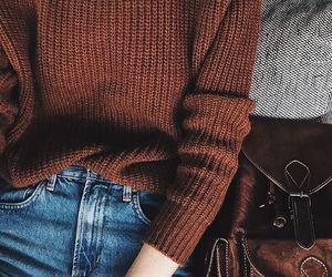 aesthetics, fall outfits, and beautiful brown image