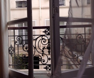 window, paris, and tumblr image