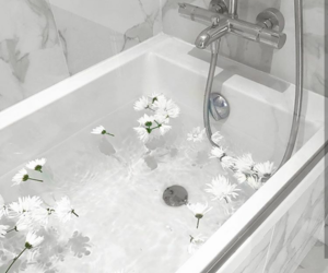 bath, marble, and relax image