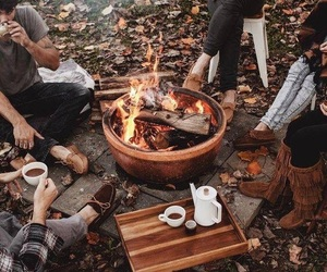 autumn, fall, and friends image
