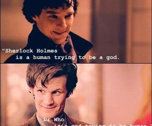 doctor who, sherlock, and sherlock holmes image
