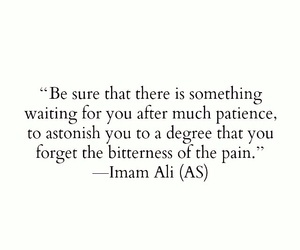 life, patience, and bitterness image