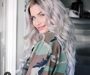 pretty, smile, and army jacket image