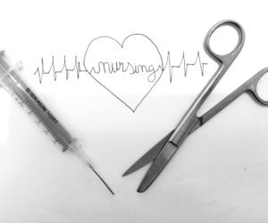 heart, nurse, and nursing image