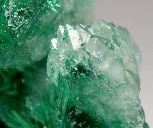 crystal, aesthetic, and green image