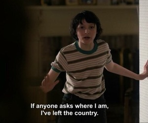 stranger things, finn wolfhard, and gif image