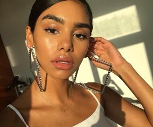 glow, makeup, and brows image