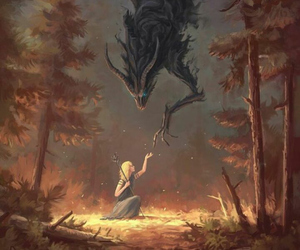 fantasy, art, and demon image