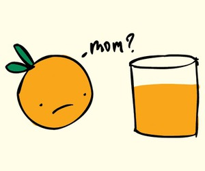 orange, mom, and juice image