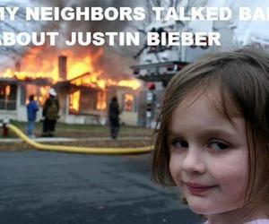justin bieber and fire image