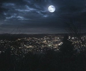 night, teen wolf, and beacon hills image