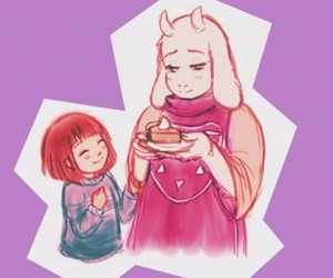 pie, pacifist, and frisk image