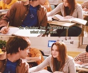 mean girls, lindsay lohan, and october image