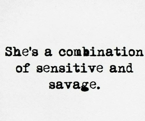 quote, tumblr, and savage image