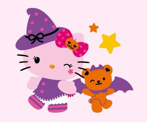background, bear, and Halloween image