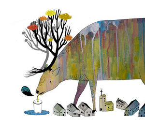 animal and fast food image