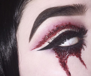 makeup and halloween makeup image