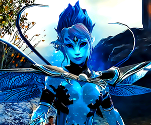 blue, mmo, and gw2 image