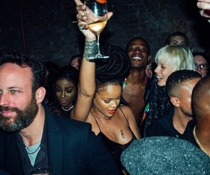 rihanna and party image