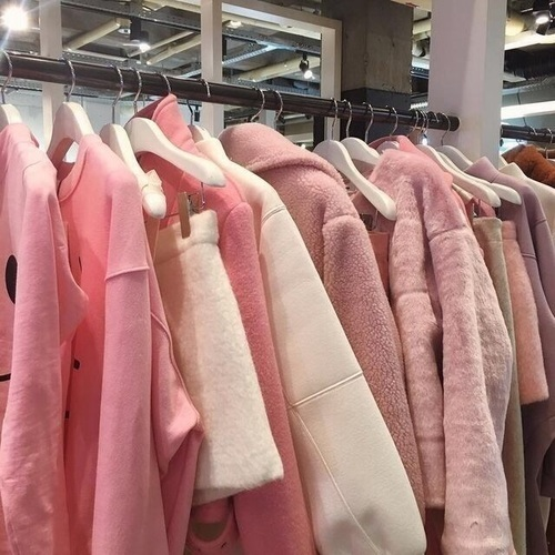 pink, clothes, and aesthetic image