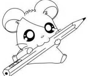 hamtaro, anime, and hamster image