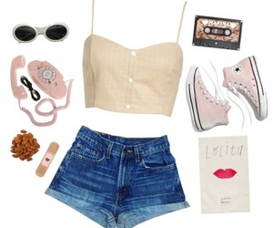 aesthetic, fashion, and girly image