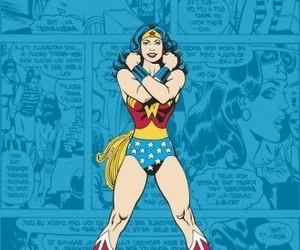 comic, DC, and wonder woman image