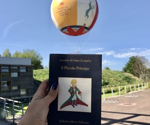balloon, thelittleprince, and magical image