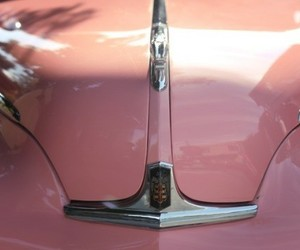 pink, vintage cars, and car abstract image