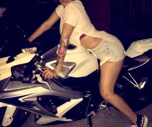 latina, motorcycle, and skrrt image