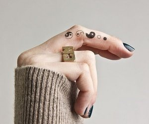 tattoo and fingers image