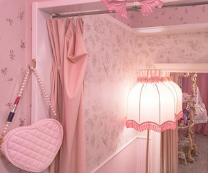 pink, kawaii, and room image