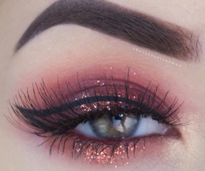 makeup and eye makeup image