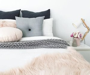 apartment, bedroom, and cozy image