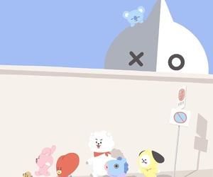 bt21, bts, and chimmy image