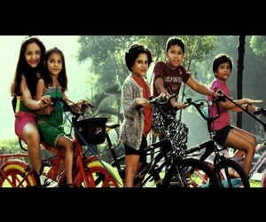 90's, bicycles, and kids image
