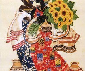 african art, art, and keith mallett image
