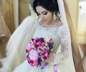 wedding, wedding day, and wedding dress image