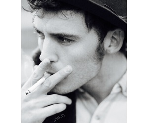 sam claflin, smoke, and Hot image