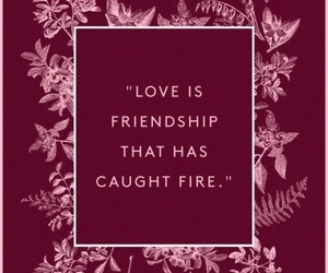 quotes, love, and friendship image