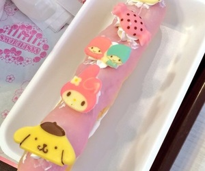 dessert, sanrio, and sweets image
