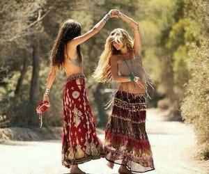 friends, hippie, and best friends image