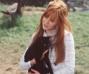 Nicole Kidman, Practical Magic, and cat image