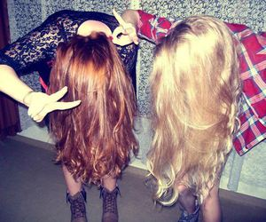 blond, drunk, and girls image