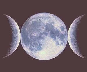 crone, maiden, and moon image